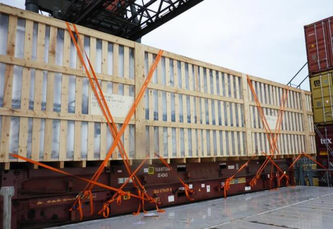 adar-trans-sertifikalı-lashing-Cargo-Loaded-and-Secrued-to-Flat-Rack